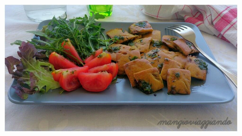 Farinata di ceci e verdure