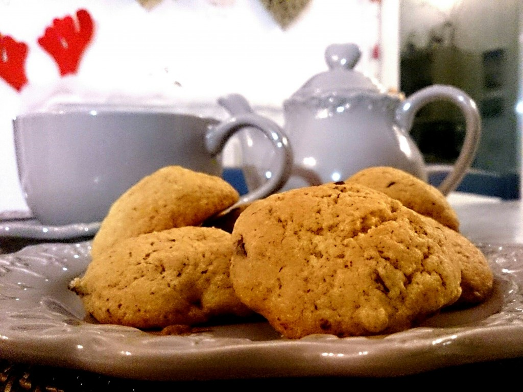 COOKIES CON CHOCOLATE Y FRAMBUESAS