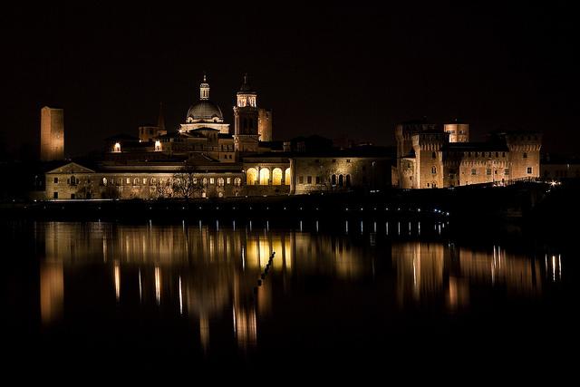 horizonte de Mantova en dos días