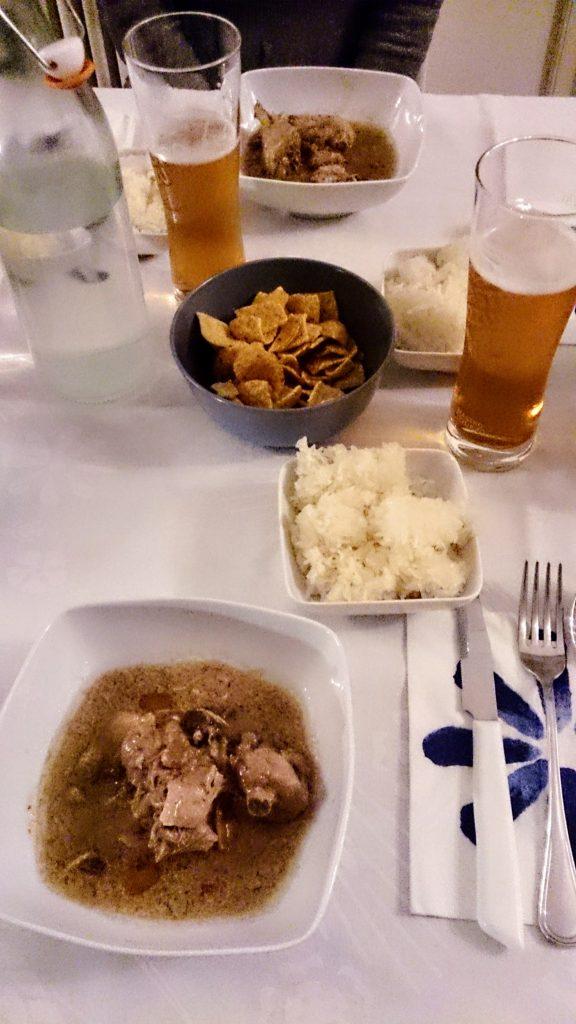 Zuppa di pollo al tamarindo