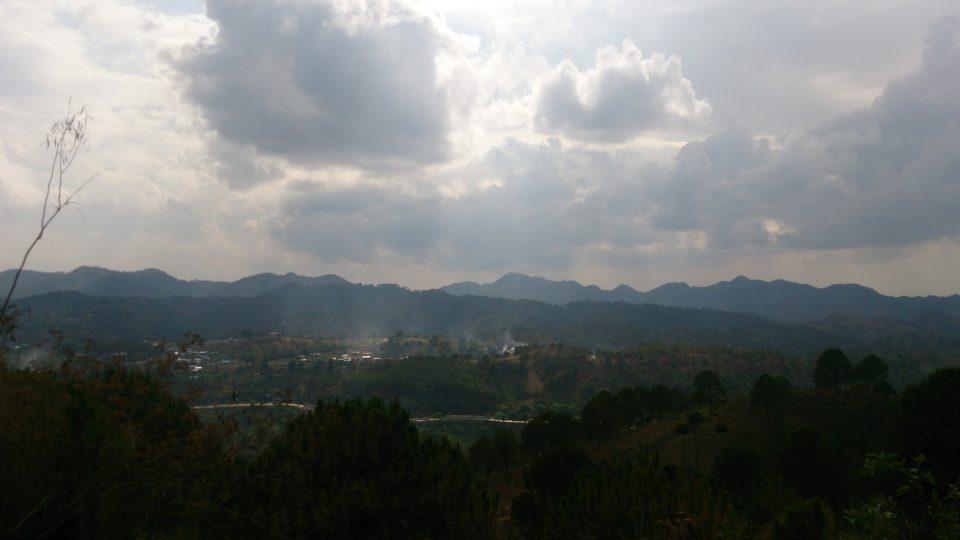Kalaw Myanmar panorama sulla città