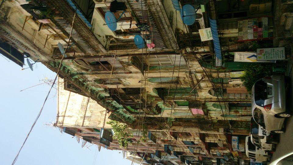Yangon - Myanmar palazzi coloniali
