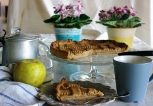 ricetta della Crostata di mele renette senza glutine e senza lattosio