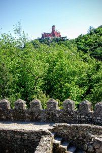 Castelo dos Mouros verso Palácio nacional da pena