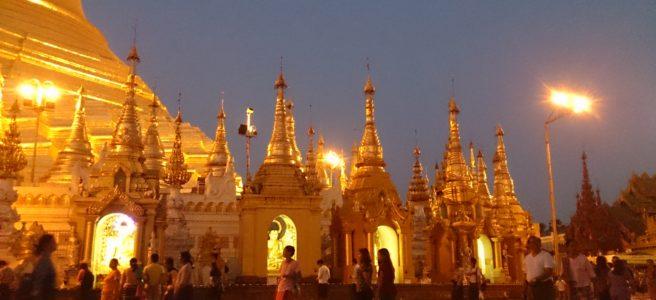 Shwedagon Paya Yangon - Myanmar