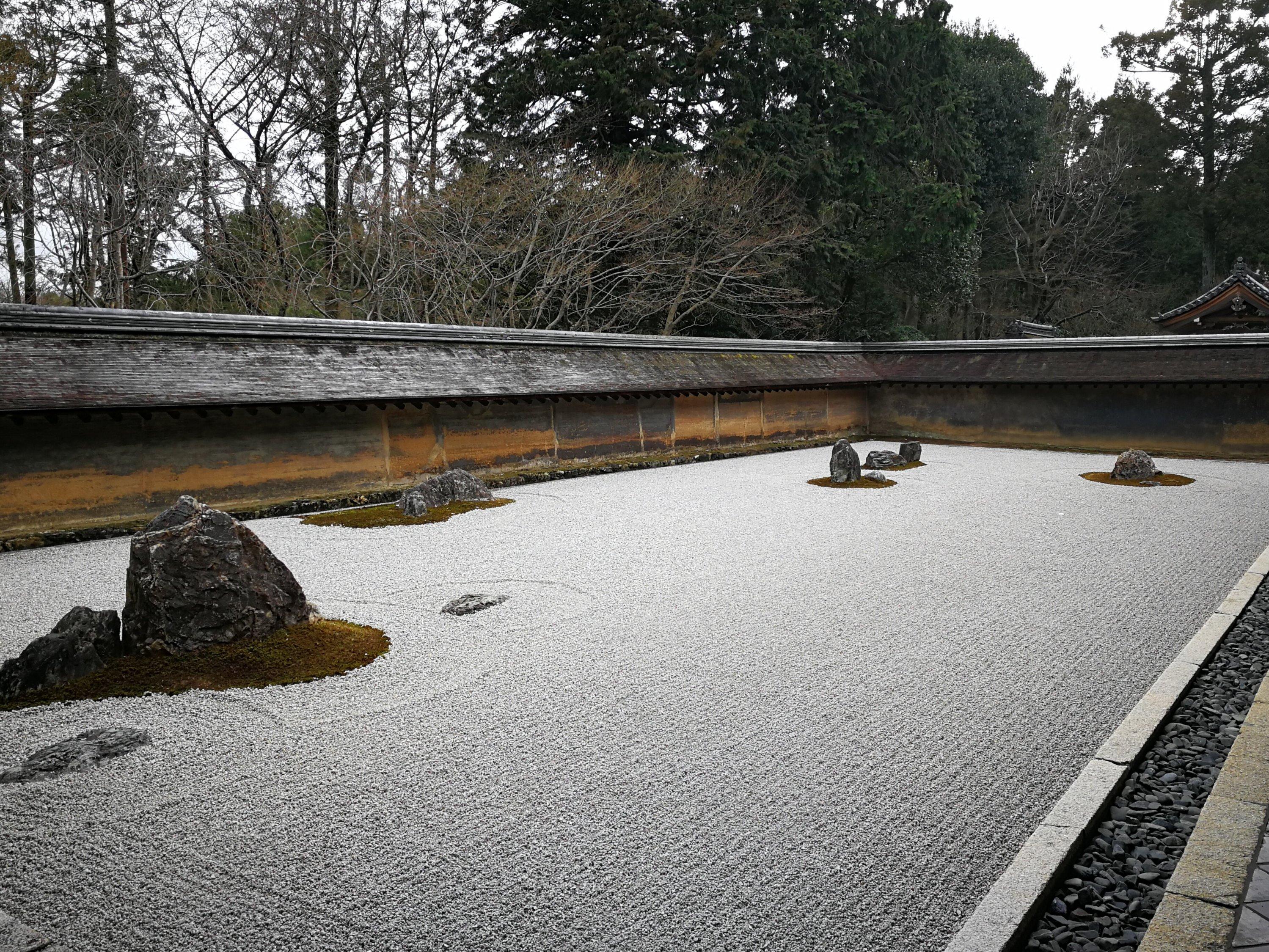 giardino del Ryoan-ji temple - Kyoto 4 giorni