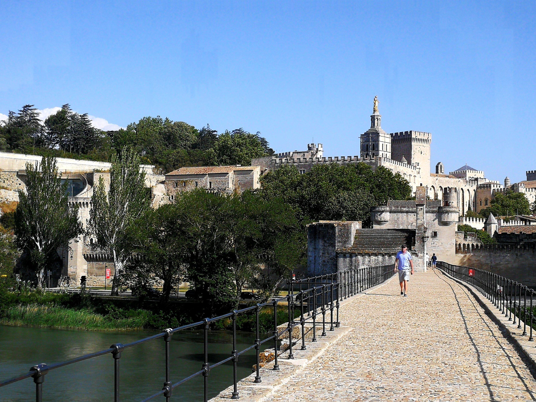 il famoso ponte d'Avignone (Ponte Saint-Bénezet)