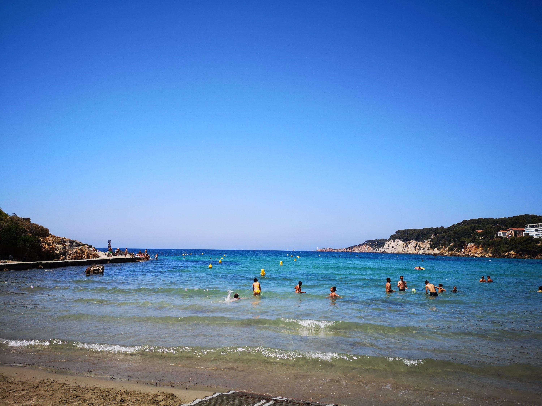 Sanary sur Mer la spiaggia di Portissol - Provenza